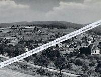 Bombach im Breisgau - Kenzingen - Ortsansicht -  um 1955    K 8-14
