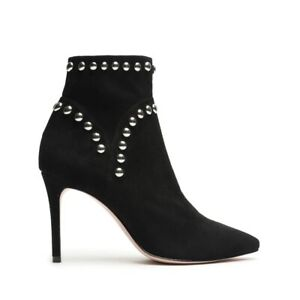Schutz - Lilly Studded Ankle Boot- Color: Black- Women's Size 7.5B- Brand New!