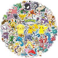 Set of 100 Pokemon Stickers