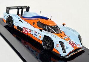 Ixo 1/43 - Lola Aston Martin #007 LMP1 6th Le Mans 2010 Gulf Diecast Model Car
