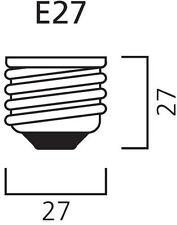 Ampoules transparents pour le salon E27