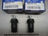 PAIRE PALIER GRAISSEUR BRAS SUSPENSION GALLOPER 2000-2002 REF MB109643