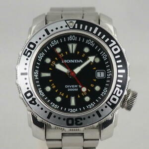 honda divers 200   born to race divers watch automatic movement   rare with box