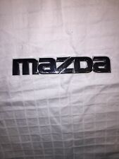Mazda 6 REAR TRUNK CHROME EMBLEM LOGO BADGE SIGN SYMBOL 09 10 11 12 13
