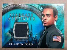 Stargate Atlantis Costume Card - Lt. Aiden Ford Costume Material