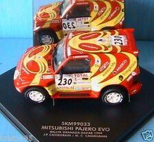 MITSUBISHI PAJERO EVO #230 GRANADA DAKAR CASSEGRAIN RED 1/43 vitesse SKM99033