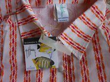 Guy Harvey Womens Size L Performance Fishing Shirt Long Sleeve Cotton Mesh Vent