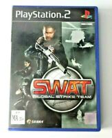 Swat Global Strike Team Sony Playstation 2 Game PAL Complete with Manual PS2