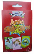 Jumbo Childrens Snap cards, measuring approximately 13cm x 9cm by Tallon