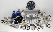 Universal High Performance Twin Turbo Charger Kit T3t4 Diy Custom Fmic Hp Piping