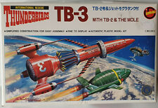THUNDERBIRDS : THUNDERBIRD 2,3 & THE MOLE MODEL KITS MADE BY IMAI