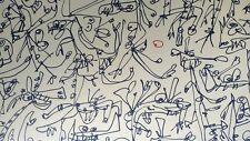 Antonio Saura. Litografía numerada y firmada.