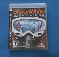 SHAUN WHITE SNOWBOARDING PS3 PLAYSTATION 3 MANUAL COMPLETE FREE SHIPPING