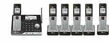 AT&T CLP99553 DECT 6.0 Connect to Cell BLUETOOTH 6 Handset Cordless Phone System