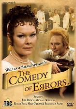 THE COMEDY OF ERRORS - DVD - REGION 2 UK