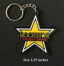 Rockstar Energey Keyring Keychain Motorcycle Bike Collectible Gift