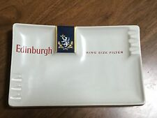 Edinburgh Cigarette Ashtray Diana Pottery Australian tobacciana Man Cave Rare