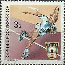 Timbre Sports Tennis Autriche 1536 ** lot 13628