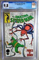 Amazing Spider-man #296 Doc Octopus Marvel 1988 CGC 9.8 NM/MT WPages Comic Q0006