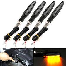 4 x 12 LED Motorcycle Indicators Motorbike Turn Signal Ambor Light 12V Universal