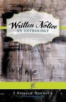 Written Notice: An Anthology by Mailhot, Nathalie, NEW Book, FREE & FAST Deliver
