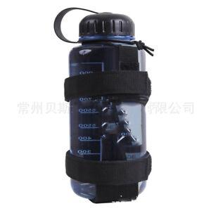 Outdoor Nylon Tactical Molle Water Bottle Holder Kettle Pouch Bottle Carrier
