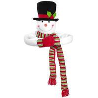 TOYMYTOY Christmas Tree Topper Snowman Hugger Christmas Snowman Tree Hugger