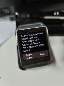 Samsung Galaxy Gear 41mm Stainless Steel Jet Black Modern Buckle SM-V700