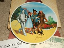 New ListingWizard of Oz Collector Plates, Knowles, Complete set of 8, + extra Dorothy plate
