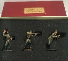 W. BRITAINS WORLD WAR II 17688 BREAKOUT-NORMANDY GERMAN 17th Waffen SS Division