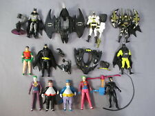 Batman Lot SKY ESCAPE JOKER, CATWOMAN, PENGUIN ROBIN Action Figures 1989 Kenner