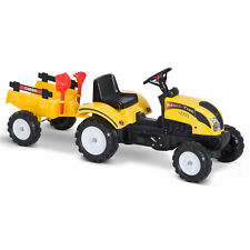 New listing Kids Pedal Go-kart Ride-on Tractor Rake Four Wheels Extra Fun Smooth Ride Wide
