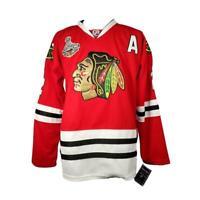 Chicago Blackhawks Men's 54 Jersey Reebok CCM 2015 Stanley Cup Duncan Keith RBK