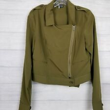 Sparkle & Fade Cop Zip Jacket Urban Outfitters Size Medium
