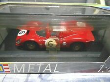 FERRARI 330 P4P 4 Spyder #6 Stewart Amon Brands Hatch 1967 Revell Jouef 1:43