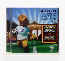 NEUF - GOLEO VI - 2006 COUPE DU MONDE FIFA Hits - MUSIQUE ALBUM CD
