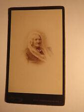 Wien - alte Frau - Portrait / CDV