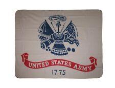 Bandera estadounidense U.S. Army Blanco 1775 50x60 Manta Cobertor de Vellón Polar Super Suave