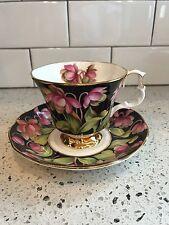 Royal Albert Provincial Flowers: Pitcher Plant Cup & Saucer Set