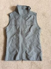 GIRL OLIVE GREEN ' LE COQ SPORTIF' ZIP UP GILET/WAISTCOAT SIZE MG