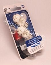 Philips LED Vision W21/5W 7443 21W 5W ROUGE RED Bulb Brake Stop Rear Light T20/5