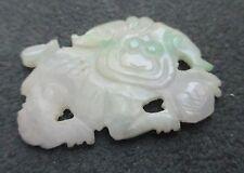 Nephrite Jade Hand Carved White