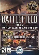 BATTLEFIELD 1942 World War II ANTHOLOGY PC *BRAND NEW & SEALED! WW2