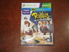 Raving Rabbids Alive & Kicking (Xbox 360) - Brand New Factory Sealed! Kinect!