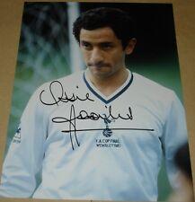 Ossie ardiles Tottenham HOT Spurs personalmente firmato Autograph 16x12 FOTO CALCIO