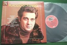 A Portrait of Placido Domingo Arias from Faust Don Carlo Aida + ASD 4031 LP