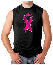 Pink Ribbon - Breast Cancer Awareness Men's SLEEVELESS T-shirt