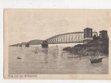 Brug Over Den Moerdijk Netherlands 1914 Postcard 697a