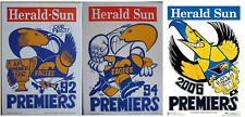 1992 1994 2006 Original Herald West Coast Eagles Weg Poster Premiers Poster