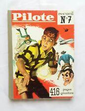 Recueil journal Pilote 7 Asterix de 92 à 104 + pilotoramas / EO 1961 ALBUM BD